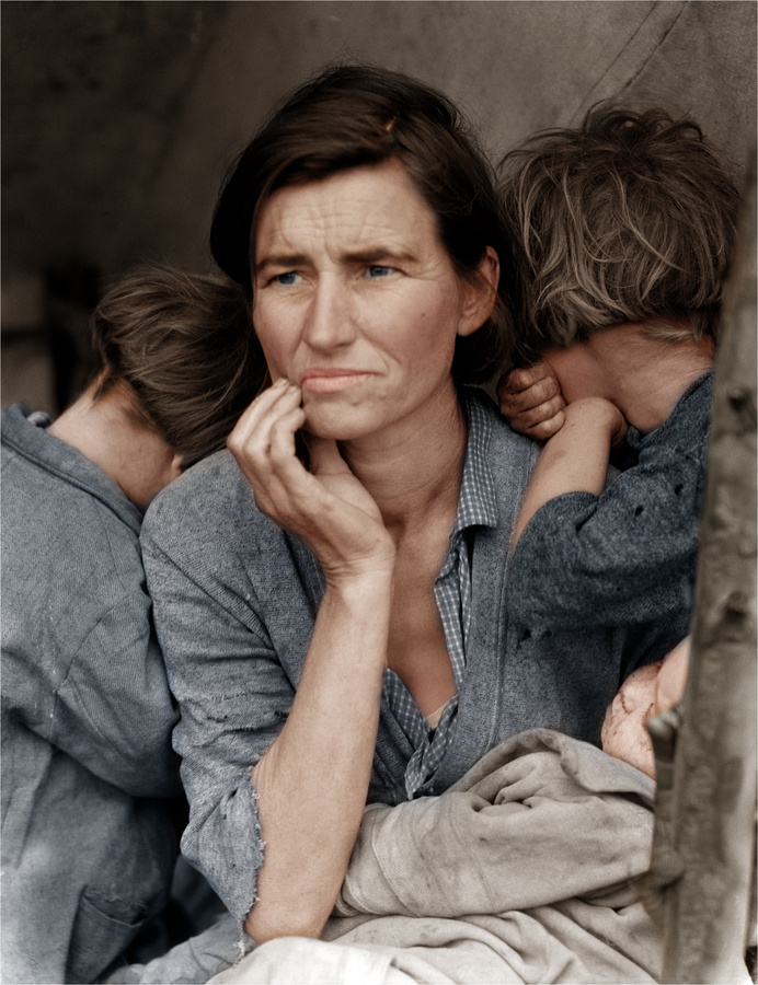 dorothea lange essay migrant mother